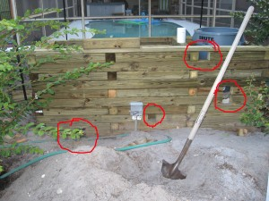 More plumbing build a fish pond for Koi pond plumbing